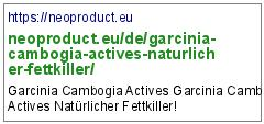 https://neoproduct.eu/de/garcinia-cambogia-actives-naturlicher-fettkiller/
